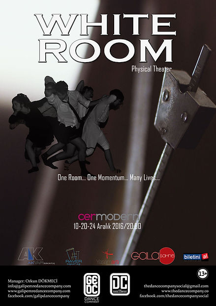 white room,physical theater,contemporary,modern dans