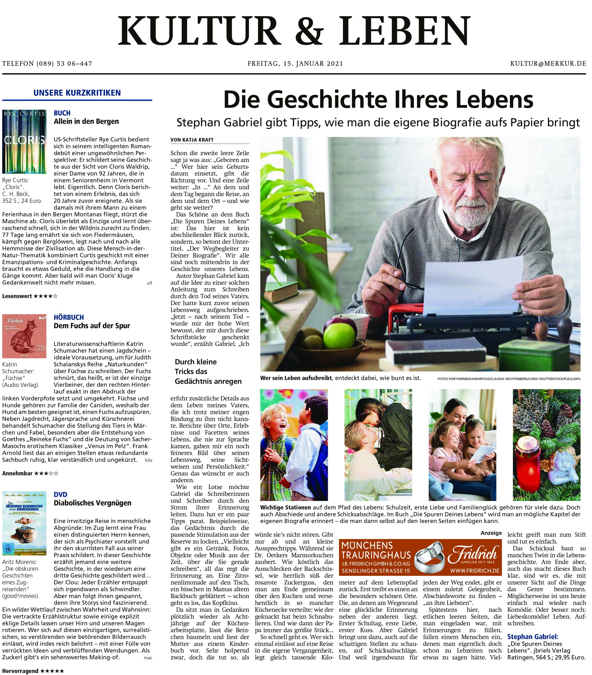 Rezension Münchener Merkur