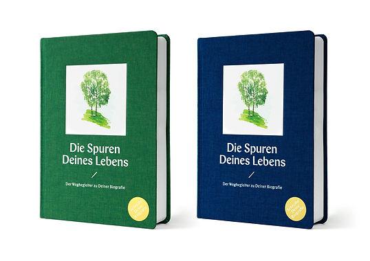 Geschenk-Buch Die Spuren Deines Lebens B