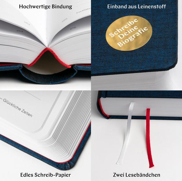 Die Spuren Deines Lebens : Das ideale Geschenk-Buch