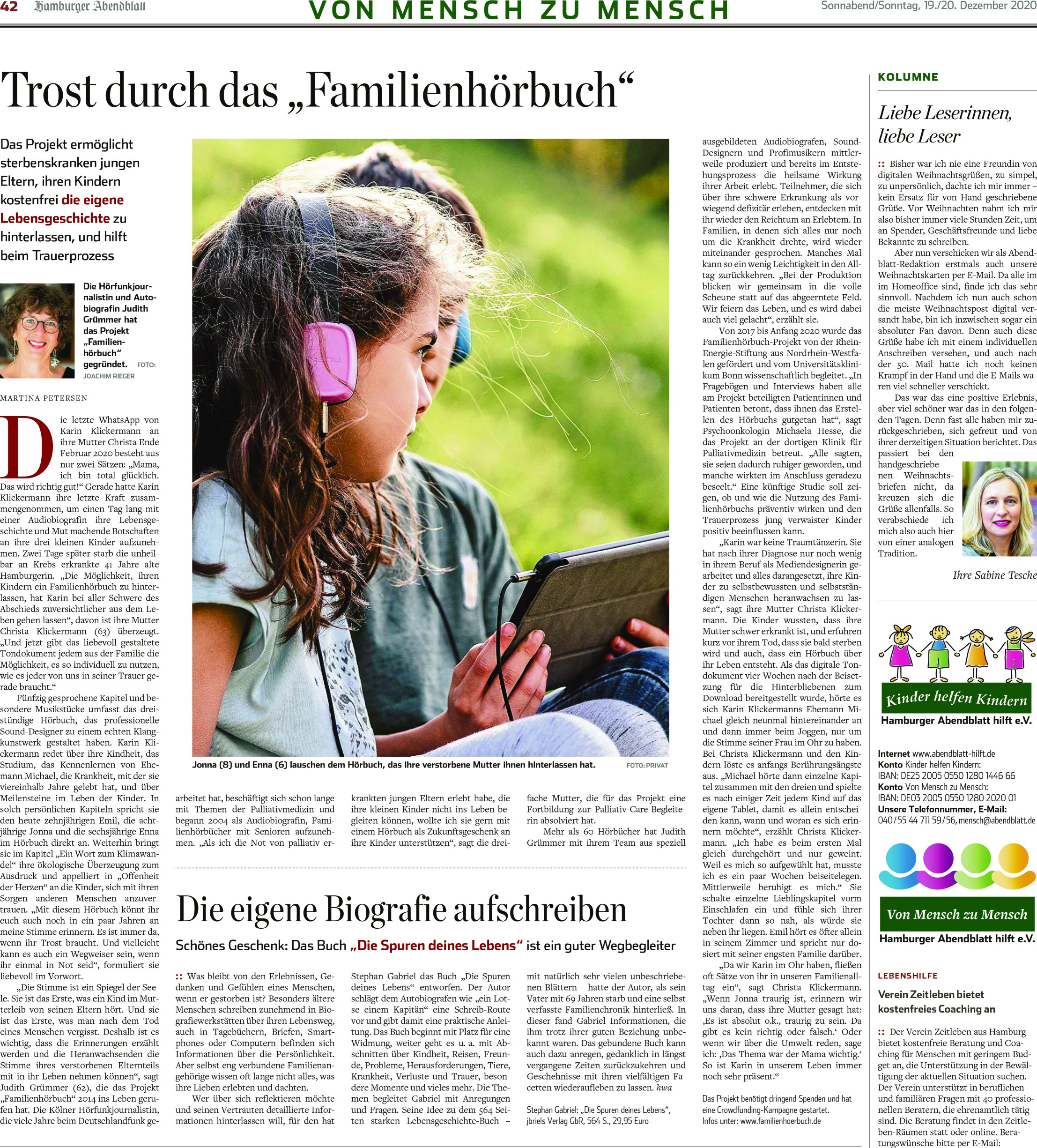 Rezension Hamburger Abendblatt Die Spure
