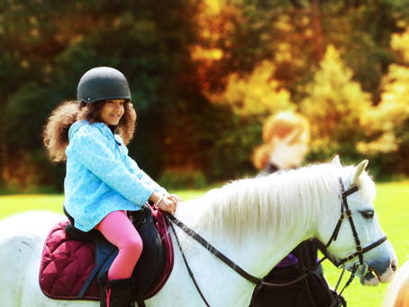 Summer's Horse Riding Birthday Party at Wythenshawe Park Riding Stables