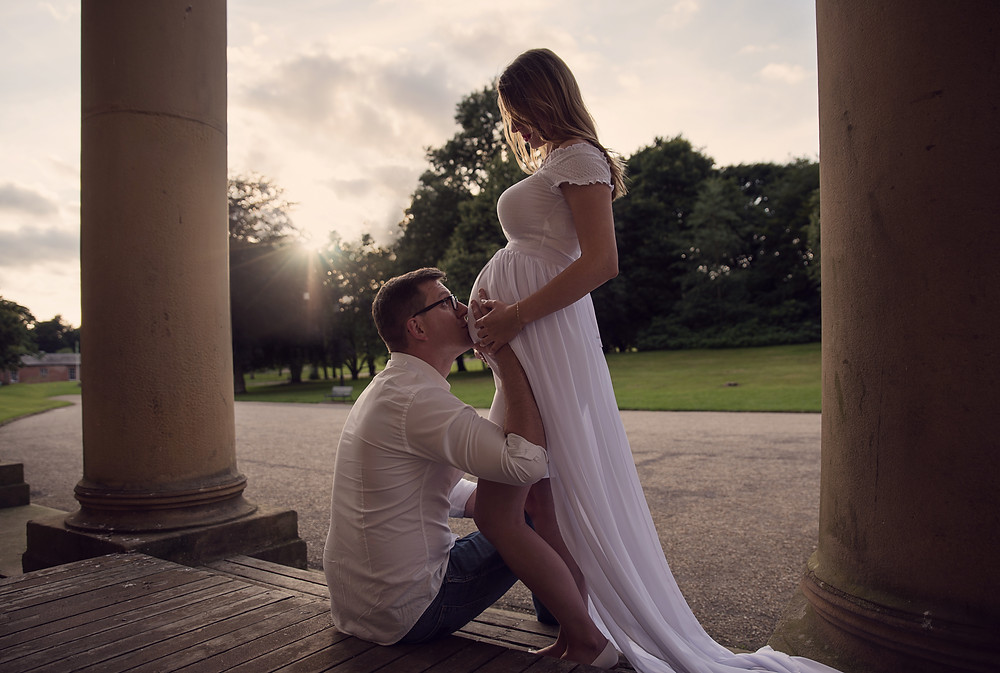 Pregnancy photography in Manchester