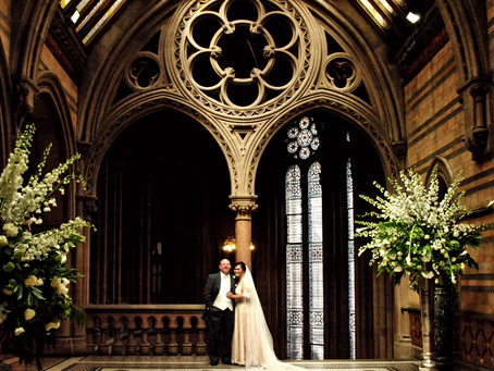 Mona & Adam's wedding at Manchester Town Hall