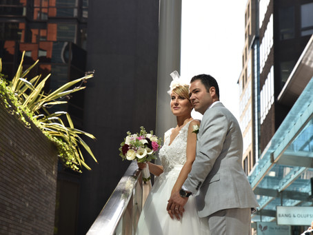 Stefania & Jesus: Wedding at Manchester Bem Brasil.