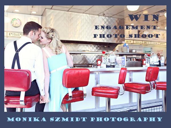 Win engagement photo shoot