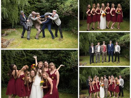Alicia & Dom Lancashire Wedding