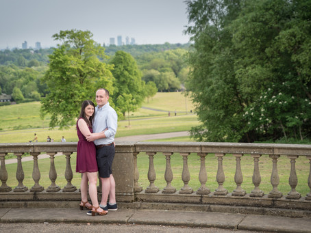 Engagement Photo Shoot In Heaton Park, Manchester