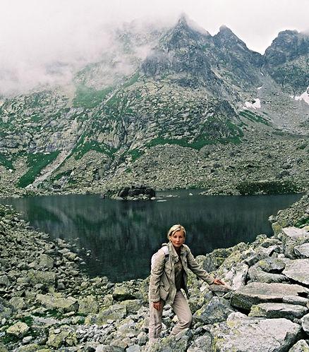 Monika Szmidt at Tatra Mountains
