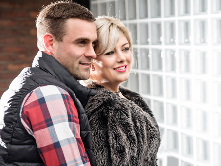 Becki & Phil: Pre-wedding photos at Deansgate - Castlefield