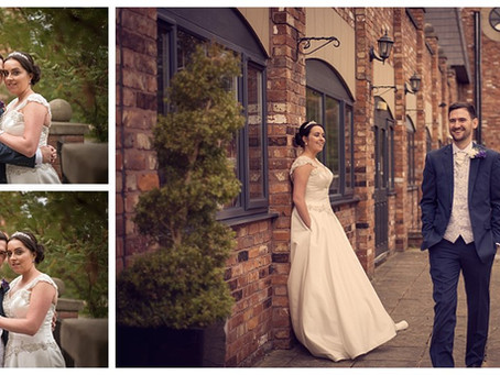 Jenna & Daniel Wedding at Village Hotel in Warrington