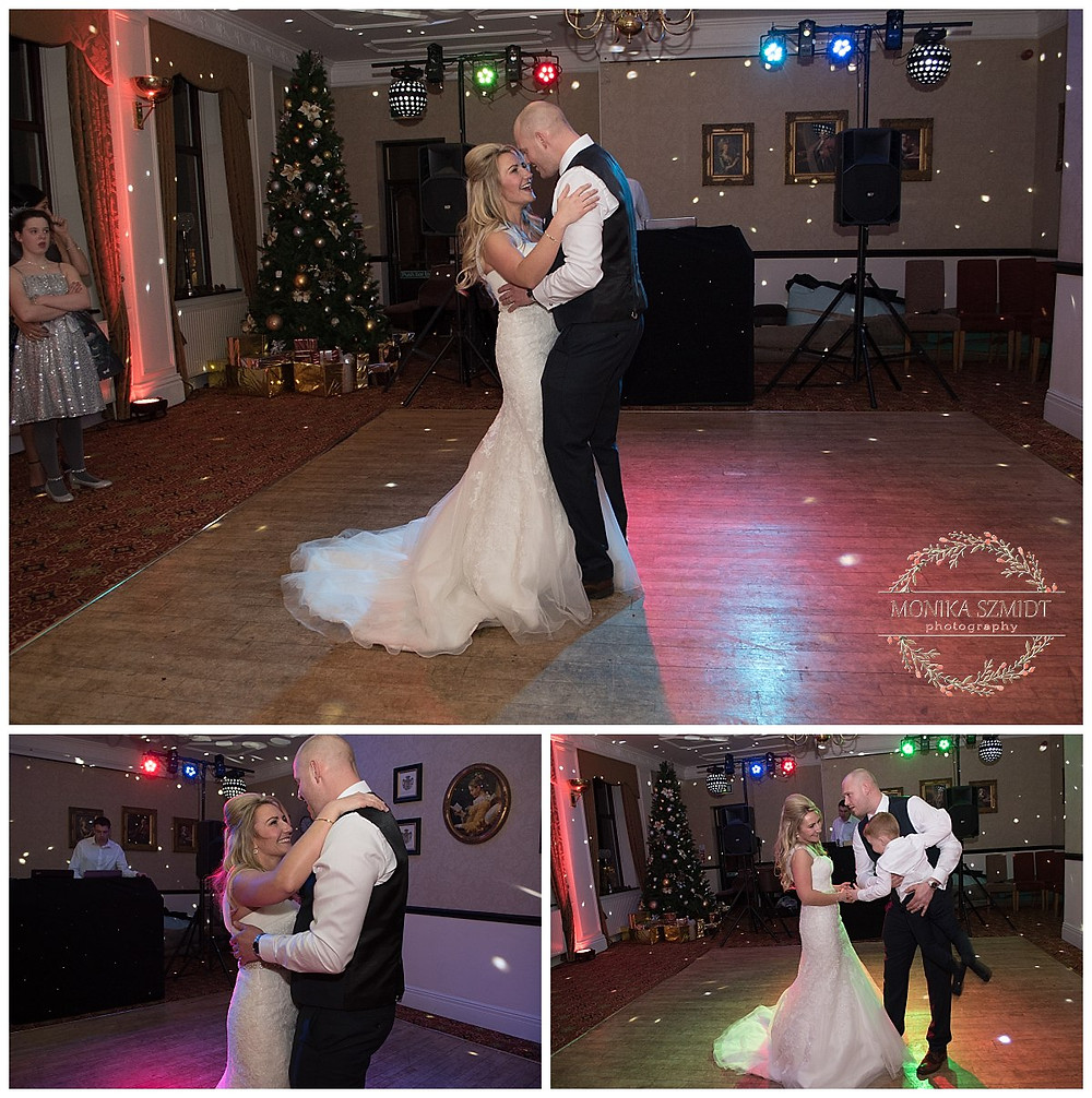 first dance, couple dancing