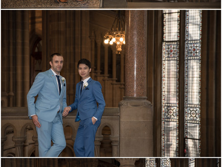 (No Ordinary) Wedding at Manchester Town Hall