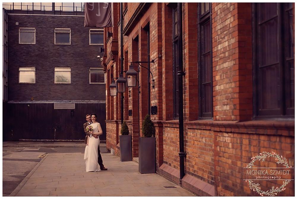 Wedding at Great John Street Hotel in Manchester