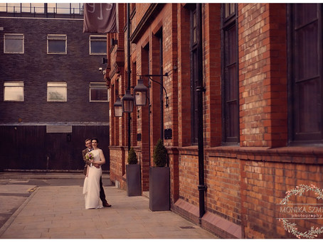 Sarah & Adam Wedding at Great John Street Hotel in Manchester