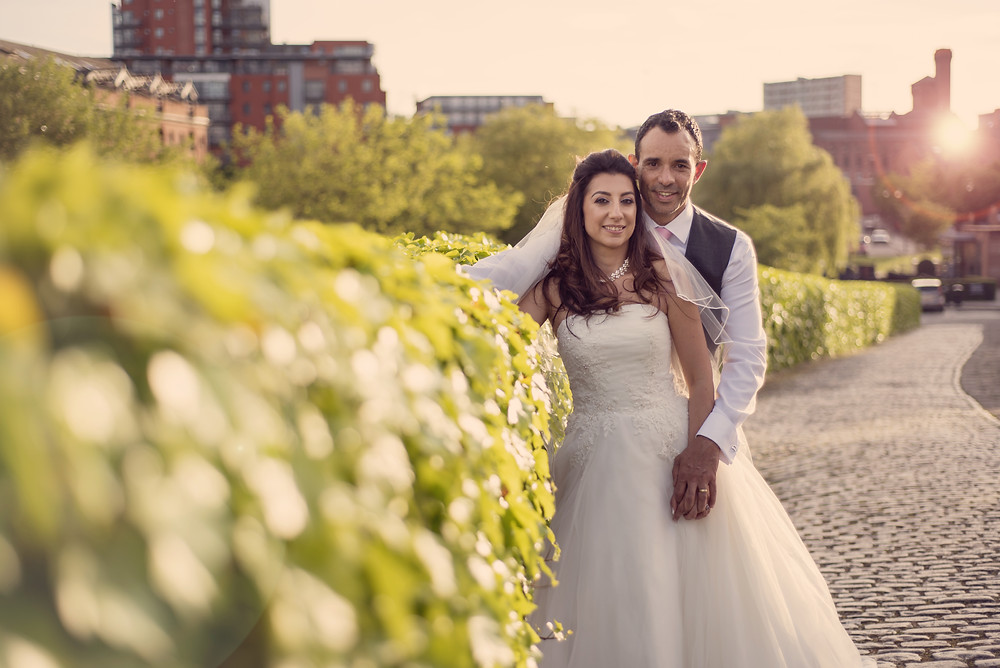 Wedding photography at The Castlefields Rooms in Manchester