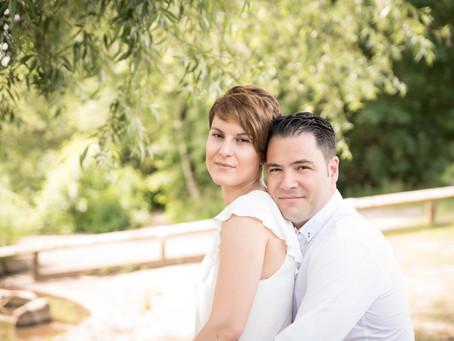 Stefania & Jesus: pre-wedding photos at Chorlton Water Park
