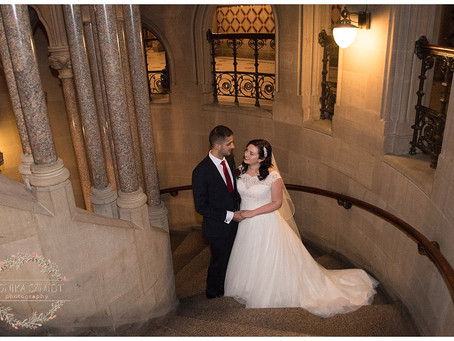 Christmas Wedding at Manchester Town Hall