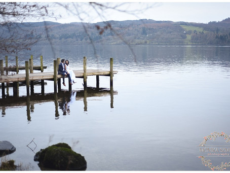 Nithya & Steven Wedding at Langdale Chase, Windermere - Lake District