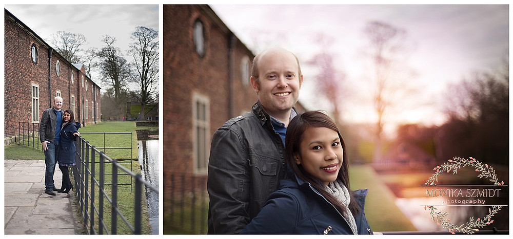 engagement photography at Dunham Massey