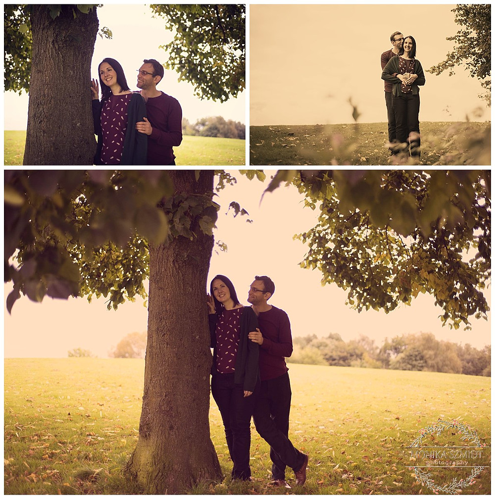 engagement photography at Heaton Park
