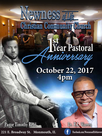 Newness of Christ FLYER 1yr Pastoral Ann
