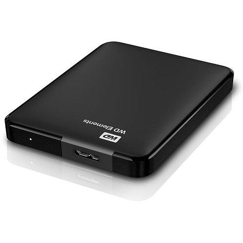 WD Elements 1TB externe USB-Festplatte