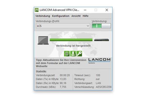 Lancom Advanced VPN Client Windows