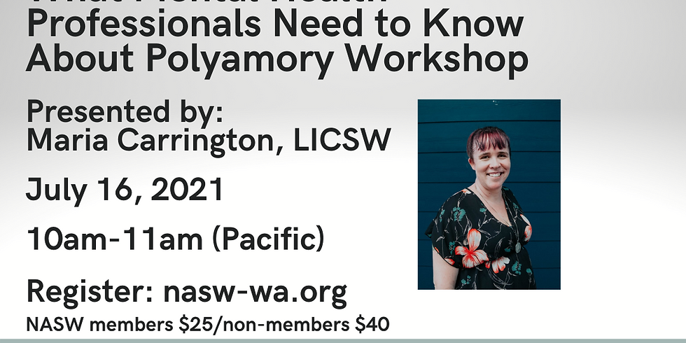 Navigating the New World of Non-Monogamist Relationships: What Mental Health Professionals Need to Know About Polyamory
