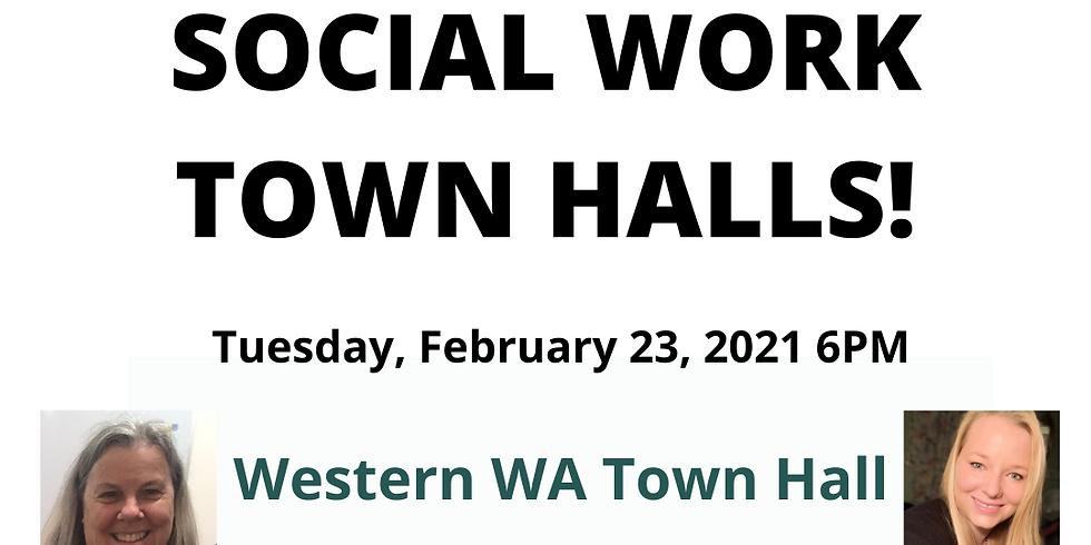 Social Work Town Hall: Western Washington 2.23.21