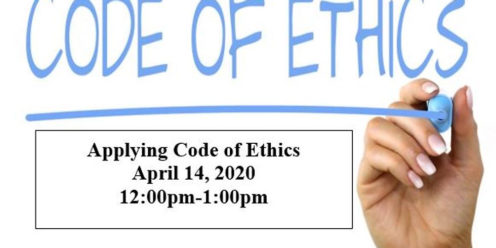 Applying Code of Ethics