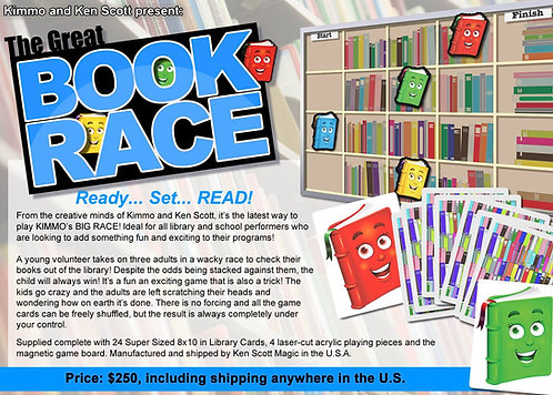 The Great Book Race!