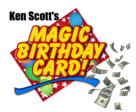 Magic Birthday Card !
