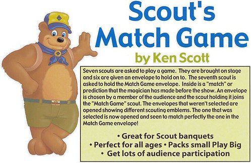 Scout's Match Game