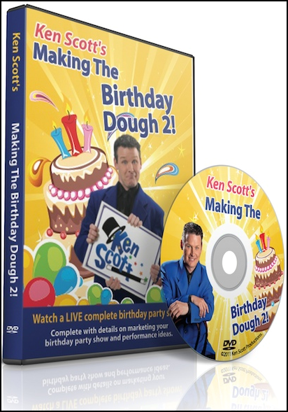 Ken Scott's Making The Birthday Dough 2.0