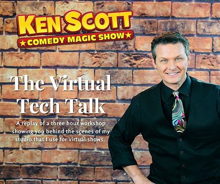 Ken Scott Tech Talk! This was a LIVE ZOOM workshop that has been recorded.