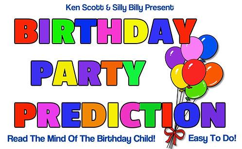 Birthday Party Prediction