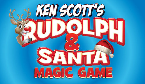 Rudolph and Santa Magic Game