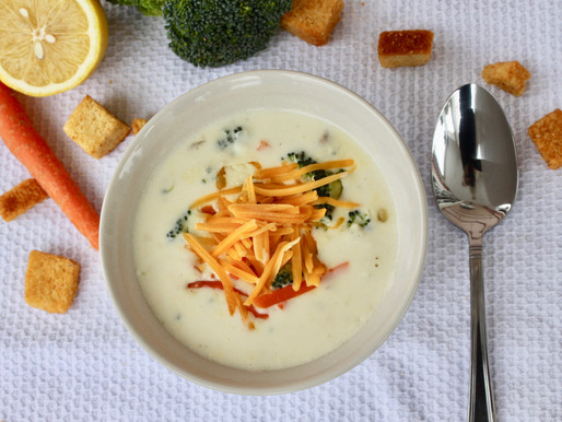 Cheddar Broccoli Cheese Soup