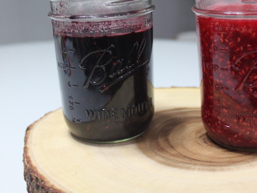 Raspberry & Blackberry Sauce/Jam