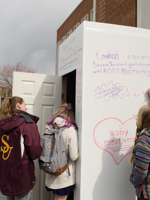 The Hidden Secrets of Eating Disorders - Socially-Engaged Installation