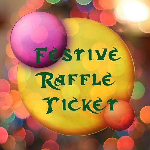 Festive Raffle Ticket