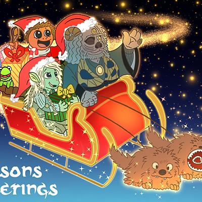 Fan Art Christmas Cards