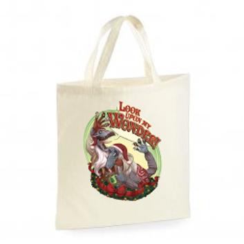 Festive Tote Shopping Bag