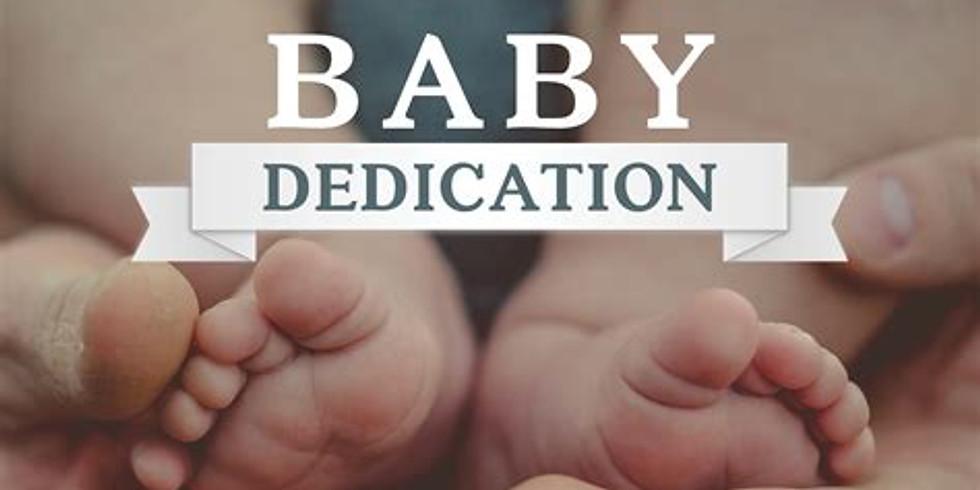 Baby Dedication Servie