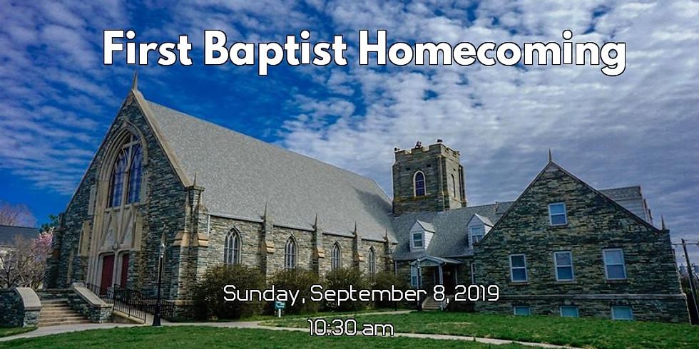 First Baptist Church of Randleman Homecoming