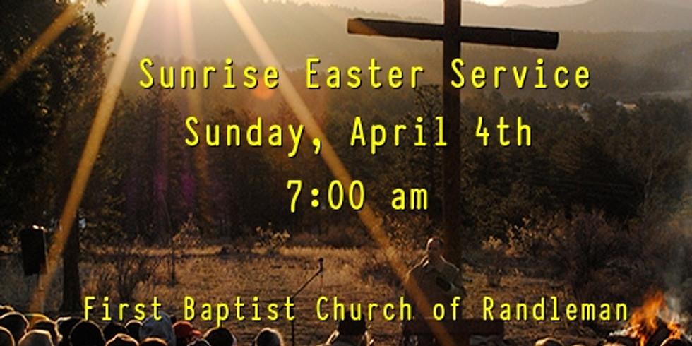 Sunrise Easter Service