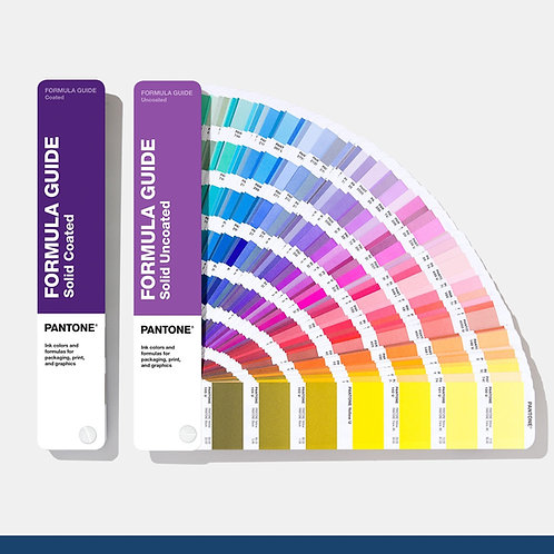 Nuancier Pantone formula guide - Solid Coated + Uncoated