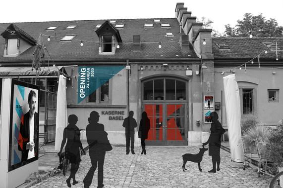 Corporate Design - Kaserne Basel