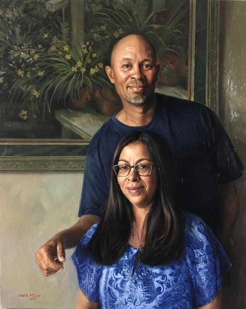 Becky & John Senegal, 24x30 Winner of th